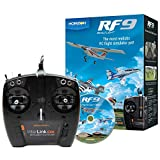 RealFlight 9: RF9 Radio Control RC Flight Simulator Software with Spektrum Interlink-DX Controller, RFL1100