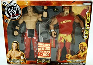 WWE Jakks Pacific Wrestling Classic Superstars Exclusive Action Figure 2Pack Hulk Hogan vs. Shawn Michaels Legend vs. Icon