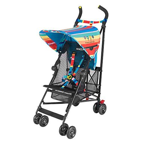 Maclaren Volo Dylan's Candy Bar Silla de paseo - ligera, de los 6 meses hasta los 25 kg, suspensión en las 4 ruedas, Capota extensible con UPF 50+