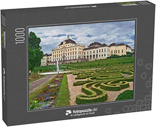 Puzzle 1000 Teile Die Residenz in Ludwigsburg mit barockem Garten - Klassische Puzzle, 1000/200/2000 Teile, in edler Motiv-Schachtel, Fotopuzzle-Kollektion 'Deutschland'