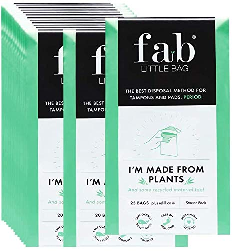 Fab Little Bag Saver Pack - 200 Disposable Feminine Hygiene Product Bags