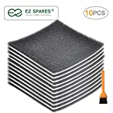 ultracare vac filters - EZ SPARES 10Pcs Replacement for Kenmore CF1,Sears Progressive Foam Filter CF-1,Progressive & Whispertone, Panasonic Vacuum Cleaners, 86883, 86880, 20-86883, 2086883, 8175084