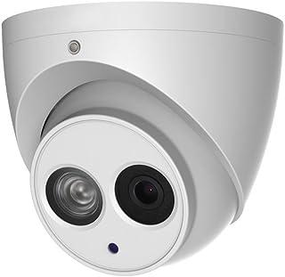 Dahua IPC-HDW4831EM-ASE-0280B - Cámara Domo Profesional 4Mpx IP POE | Iluminación infarroja y Micrófono | Exterior