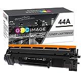 GPC Image 44A Cartuchos de tóner Compatible para HP CF244A 44A con Chip (1 Negro) para HP LaserJet Pro M15a, M15w, MFP M28a, MFP M28w Impresora