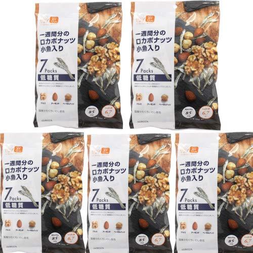 ロカボナッツ 小魚入り (175g 5個セット)