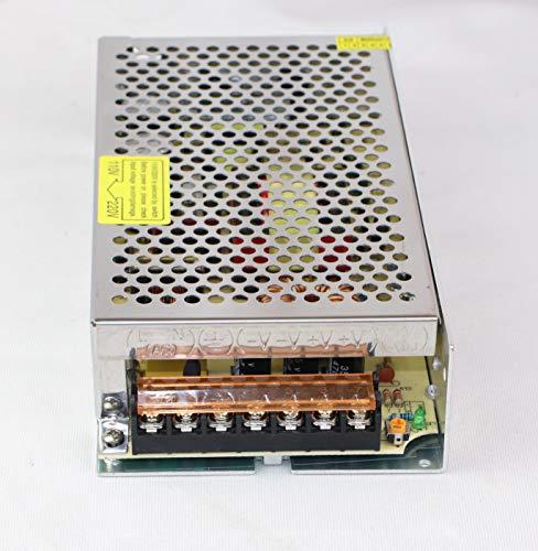 12V Netzteil Trafo Schaltnetzteil 110/220V DC 12V 10A 120W Adapter Transformator für 3D Drucker, LED Beleuchtung Stripes, Industrieanlagen, Computer Projekt (12V 120W)