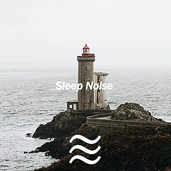 Längre sömn med brunt lugnande ljud