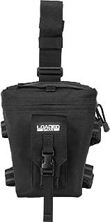 Barska Loaded Gear CX-300 Drop Leg Dump Pouch-Black