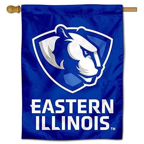 College Flags & Banners Co. EIU Panthers Double Sided House Flag