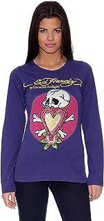 Ed Hardy Camiseta Skull In Love