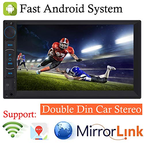 For Chevrolet Express 1500 2500 3500 HHR Impala 2004-2009 Double Din Android System AM FM Radio In-dash Car Stereo Bluetooth Car Stereo 7inch Touchscreen Audio Receiver MP3 Vedio Player 1080P, Support
