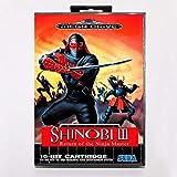Samrad Shinobi III Return Of The Ninja Master Game Cartridge 16 Bit MD Game Card With Retail Box For Sega Mega Drive For Genesis
