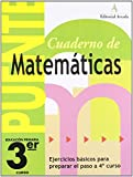 Cuaderno De Matemáticas. Puente 3Er Curso Primaria. Ejercicios Básicos Para Preparar El Paso A 4º Curso de Lina Pàmies Tomàs (26 feb 2013) Tapa blanda