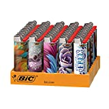 BIC Special Edition Bohemian Series Lighters, 50-Count Tray