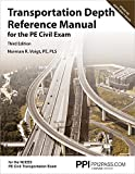 PPI Transportation Depth Reference Manual for the PE Civil Exam, 3rd Edition – A Complete Reference Manual for the NCEES PE Civil Transportation Exam