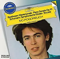 Beethoven: Piano Sonata 32; Schumann: Symphonic Etudes, Toccata Op. 7; Chopin: Nocturne Op. 55 No. 2, Etudes Op. 10 Nos. 8, 10, Op. 25. No. 6 by Ivo Pogorelich (2010-01-19)