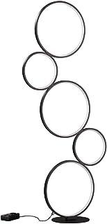 Trio Leuchten 422610532 RONDO Lampadaire Noir