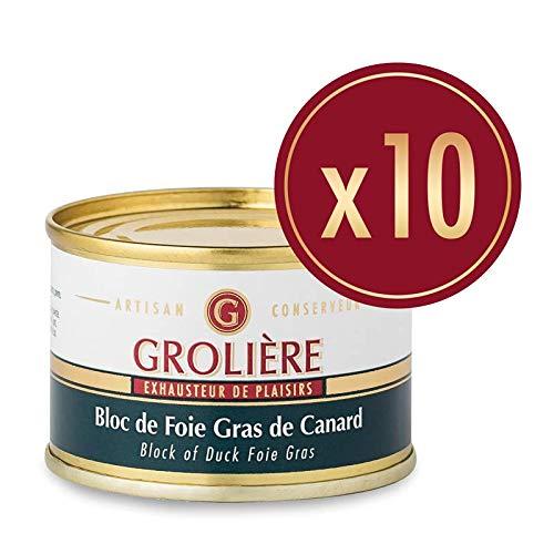pas cher un bon Foie Gras Nativité 10 Bloc de Canard 65g 1 pc