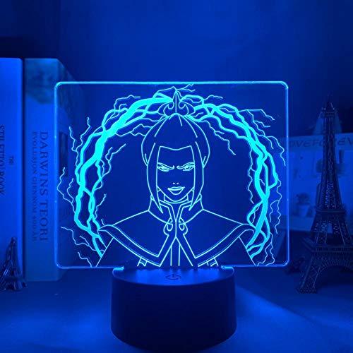 Regalos para mujeres acrílico luz nocturna Avatar niños último cojín de aire infantil dormitorio decoración luz nocturna Avatar azul 3d luz regalo DUYAO00
