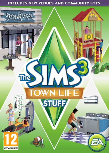 The Sims 3 Town Life Stuff (PC/Mac DVD) [Edizione: Regno Unito]