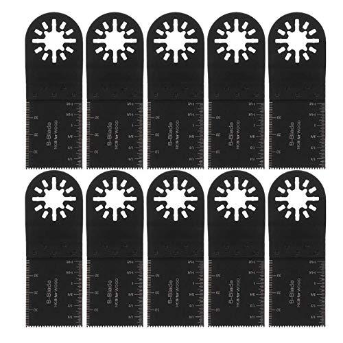 N / A Vibración de la Herramienta colchón de rectificado, 10Pcs 35mm for Fein Multimaster Makita Herramientas oscilantes Herramienta Multi Hoja de Sierra oscilante