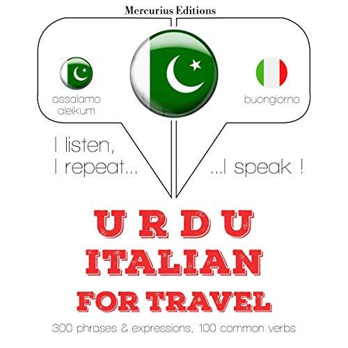 Urdu - Italian. For travel cover art