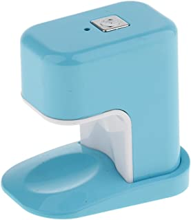 Bonarty Fashioal 3W Lámpara de Luz LED Secador de Uñas UV Lámpara de Uñas de Un Solo Dedo Cable de Carga USB - Azul