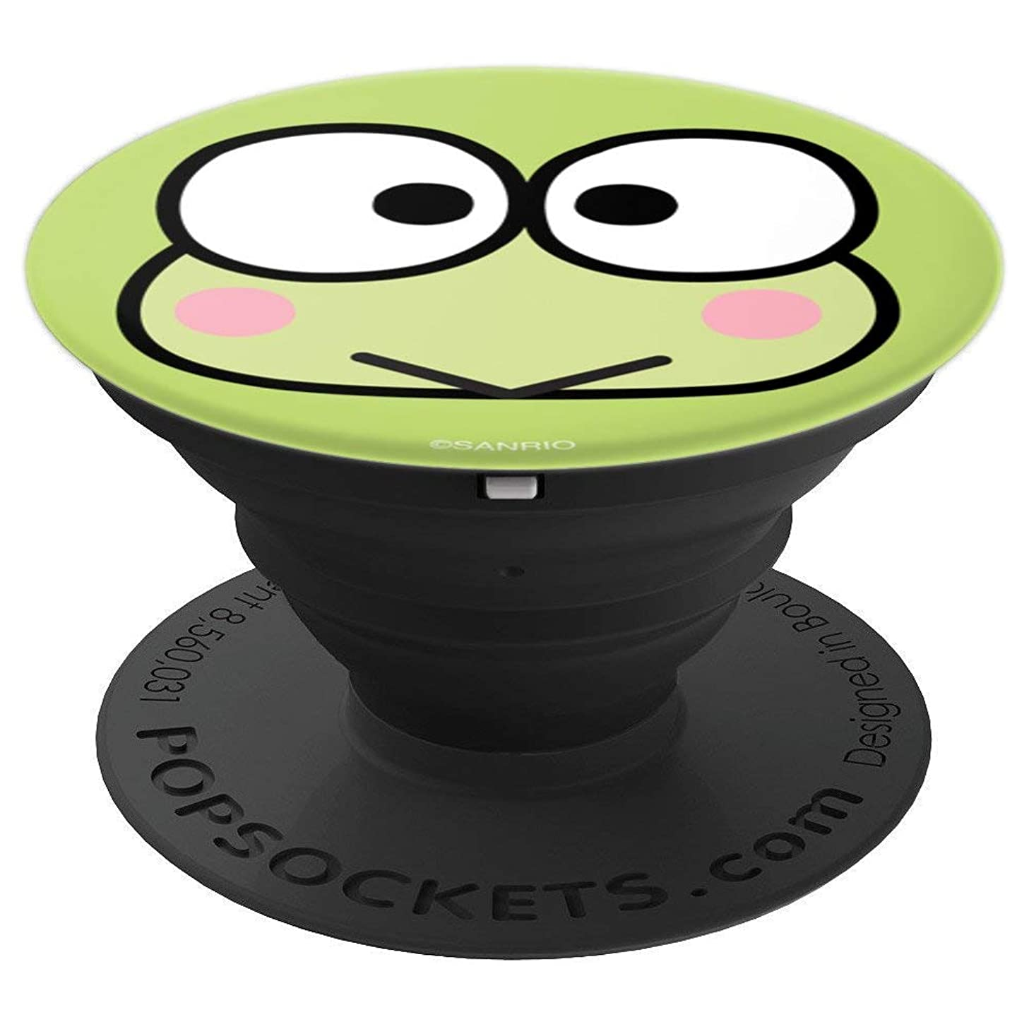 Keroppi Classic Face PopSockets Stand for Smartphones and Tablets - PopSockets Grip and Stand for Phones and Tablets