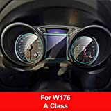 FANGPAN Auto Instrumententafel Displayschutzfolie, für Mercedes W204 W176 W213 X204 W453, für Smart Fortwo Forfour ACE GLK Klasse