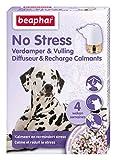 Beaphar - Diffuseur Calmant, Anti-Stress pour apaiser l'animal - Chien - 1 Prise et 1 Recharge de 30 ML