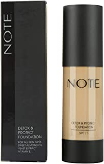 Note Protect Foundation Detox, Brown 05
