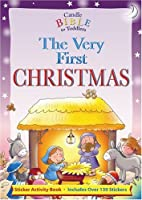 The Very First Christmas: Sticker Activity Book (Candle Bible for Toddlers)