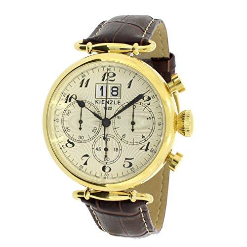 KIENZLE 1822 Orologio da polso da uomo, stile retrò, cronografo, K17-00105