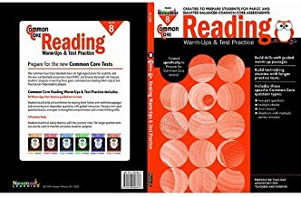 Common Core Reading Warm-Ups and Test Practice Grade 8 Paperback October 2, 2014