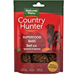 NATURES MENU Country Hunter Dog Snack Superfood Bars Rind mit Spinat und Quinoa 100g (Menge: 7 je Bestelleinheit)