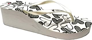 402f56d0a497 Sweet Years Infradito Ciabatte Mare Donna MOD. 0579 Zeppa Bianco Flip Flop