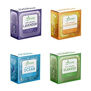 Conditioner And Body Wash Bar – 4 Pack 100% Organic Natural & Eco Friendly 2x Conditioning Moisturizer Bars For Dry…