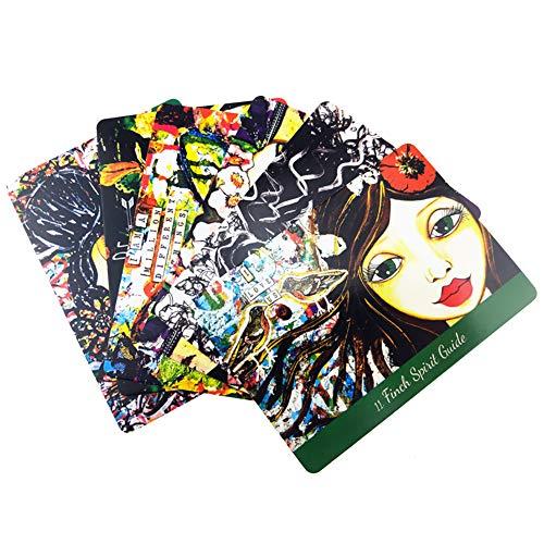SYJH Liebe Tarotkarten, Tarotkarten Brettspiel Deck, Wahrsagungsanleitung Oracle Party Fate PDF