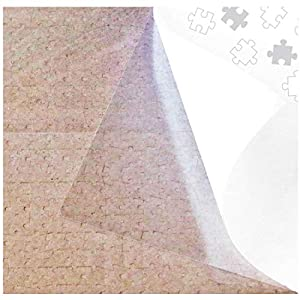 PUZZLE EZ 4 Puzzle Glue Sheets Clear Jigsaw Puzzle Saver Peel and Stick Extra Large Thick to Preserve Frame Finished 1000 Piece Puzzle from Allwaysmart