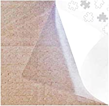 Clear Puzzle Glue Sheets Puzzle Saver Peel and Stick Adhesive Backing Sticker Extra Large Thick 4 Sheets to Preserve Frame Finished 1000 Pieces Puzzle Size 24