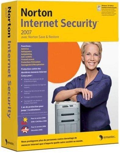 Norton Internet Security 2007 (inclus Norton Save&Restore) - Protection jusqu'à 3 utilisateurs
