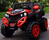 GetBest A 6500 Kids Ride on Jeep with 12V Rechargeable Battery, Music, Lights