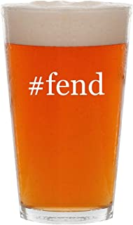 #fend - 16oz Hashtag Pint Beer Glass