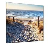 Bilderdepot24 Bild auf Leinwand | Schöner Weg zum Strand