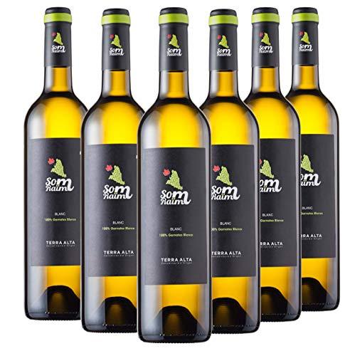 Vino blanco - Som Raïm blanc 2019- Garnacha blanca - DO Terra Alta - 6 botellas x 750 ml