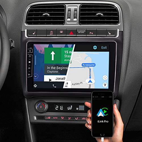 DYNAVIN Autoradio Navi für VW Polo V 6C 2014-2017, 9 Zoll OEM Radio mit Carplay und Android Auto, Bluetooth, Inkl. DAB+, USB: DIX-V-69H Pro