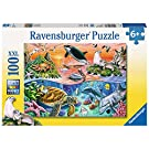 Ravensburger 10681 Underwater 100 Jigsaw Puzzle with Extra Large Pieces for Kids Age 6 Years and Up, Multicoloured