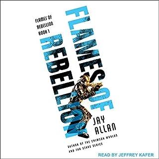 Flames of Rebellion audiobook cover art