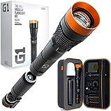 DanForce G1 Rechargeable LED Flashlight - Worldwide Patent, Best Gift Idea for Him or Her, Highest-Funded Tactical FlashLight On Kickstarter, World's First Modular Flashlight, High-Power 1080 Lumens