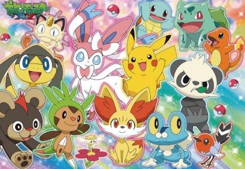 MC-60-943 Sortons de l'enfant de puzzle Pokemon pi?ce XY 60 aventure (Japon import / Le paquet et le manuel sont ?crites en japonais)